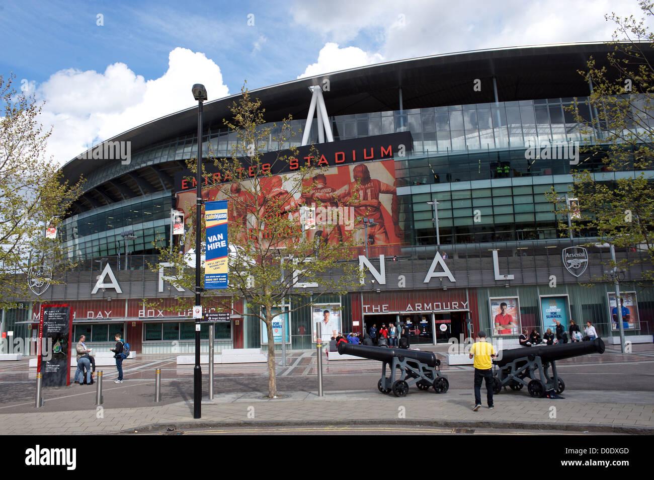 Emirates Stadium, London: address, photo, capacity 61