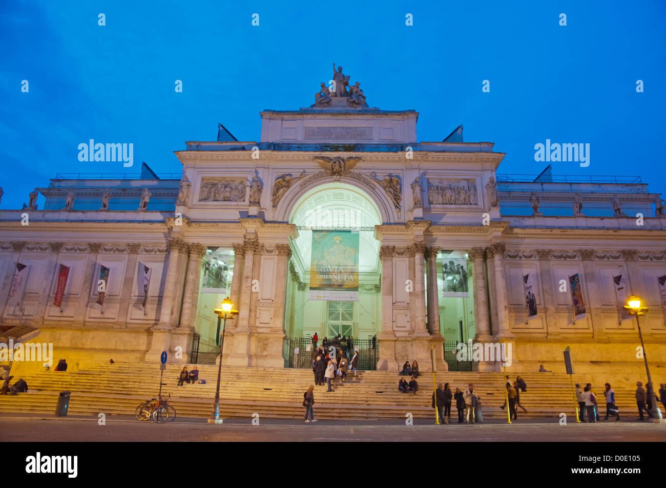 Nightlife rome stock photos nightlife rome stock images for Palazzo delle esposizioni rome italy