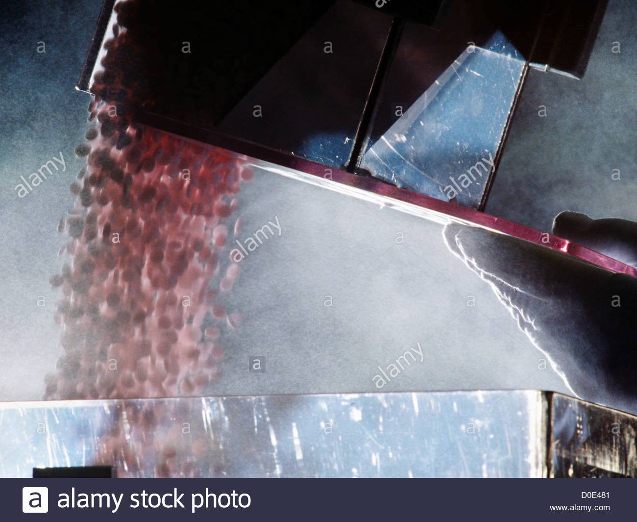 Mass Production Of Aspirin - Stock Image