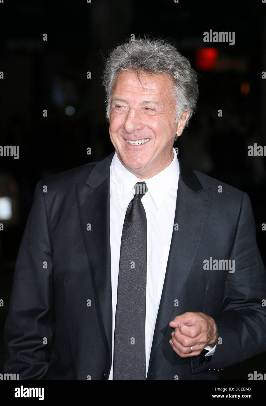 Dustin Hoffman AFI Fest  Centerpiece Gala Screening of 'Barney's Version' held at the Egyptian Theatre - Stock Image