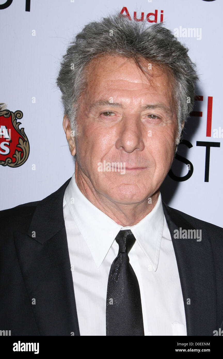 Dustin Hoffman AFI Fest 2010 Centerpiece Gala Screening of 'Barney's Version' held at the Egyptian Theatre - Stock Image