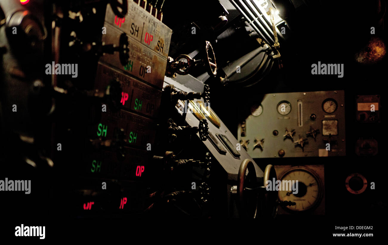 Interesting shoot of old metal machinery - Stock Image