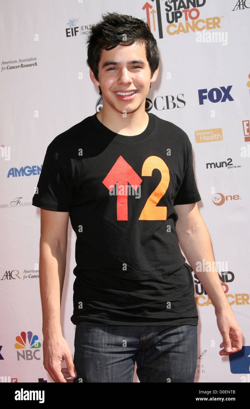 a6cb4adcddc David Archuleta Stand Up To Cancer - Arrivals held at Sony Studios Los  Angeles