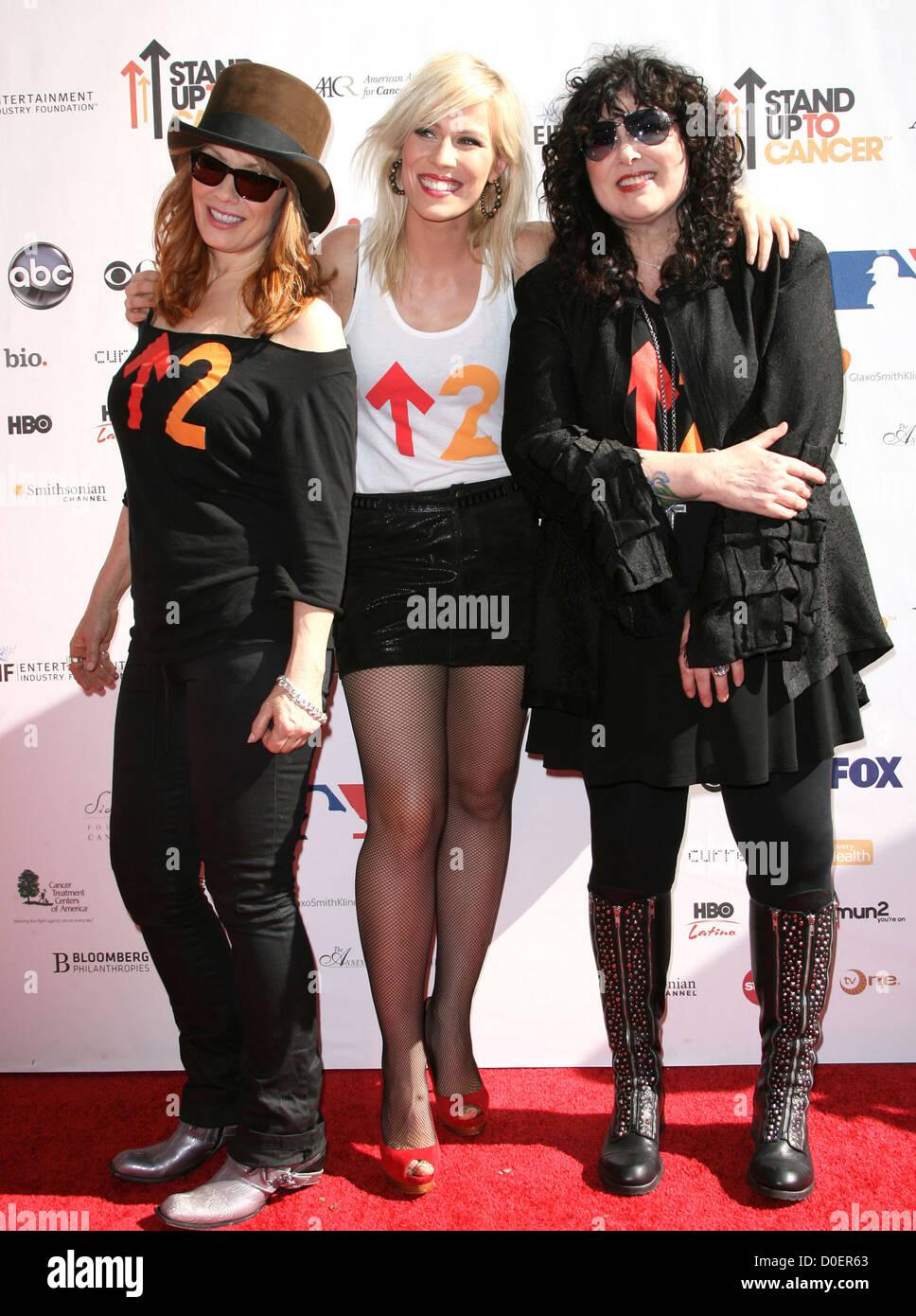 Nancy Wilson, Natasha Bedingfield and Ann Wilson Stand Up To