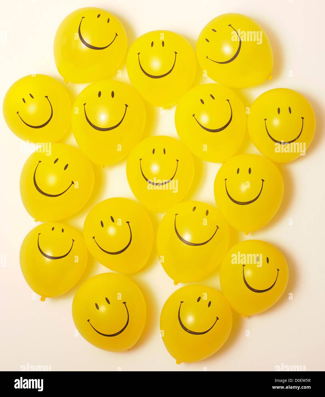 Smiley Face Balloons Stock Photos & Smiley Face Balloons Stock