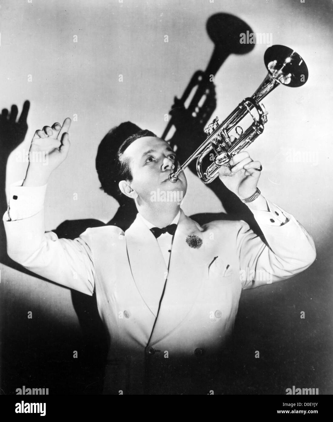 HENRY BUSSE (1894-1955) German jazz tumpeter and bandleader Stock Photo