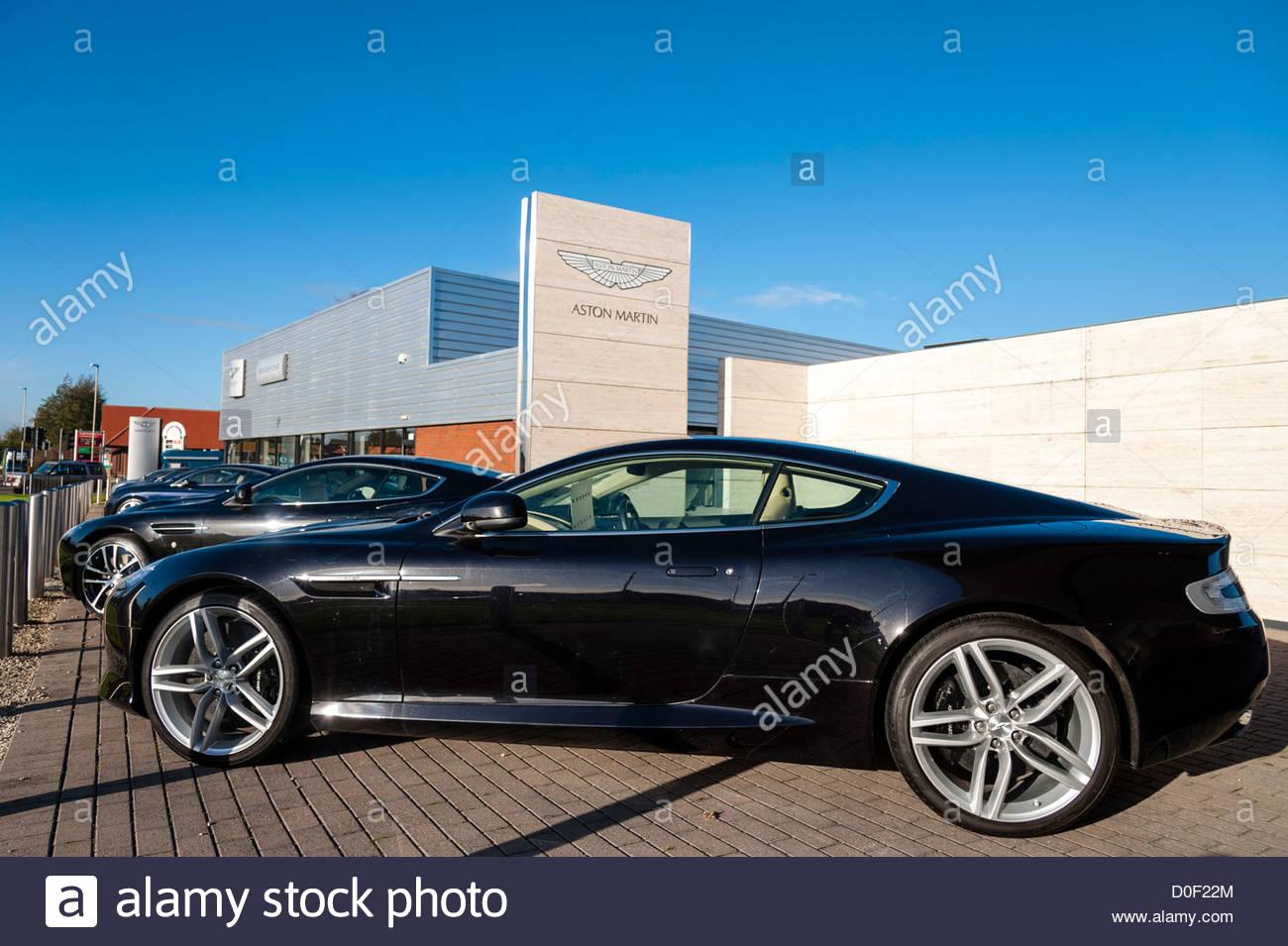 Aston Martin Dealership Stock Photos  U0026 Aston Martin