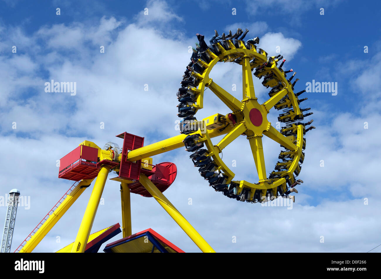d146aa142558 Flip flop ride at Flamingo land resort near Pickering in North yorkshire uk