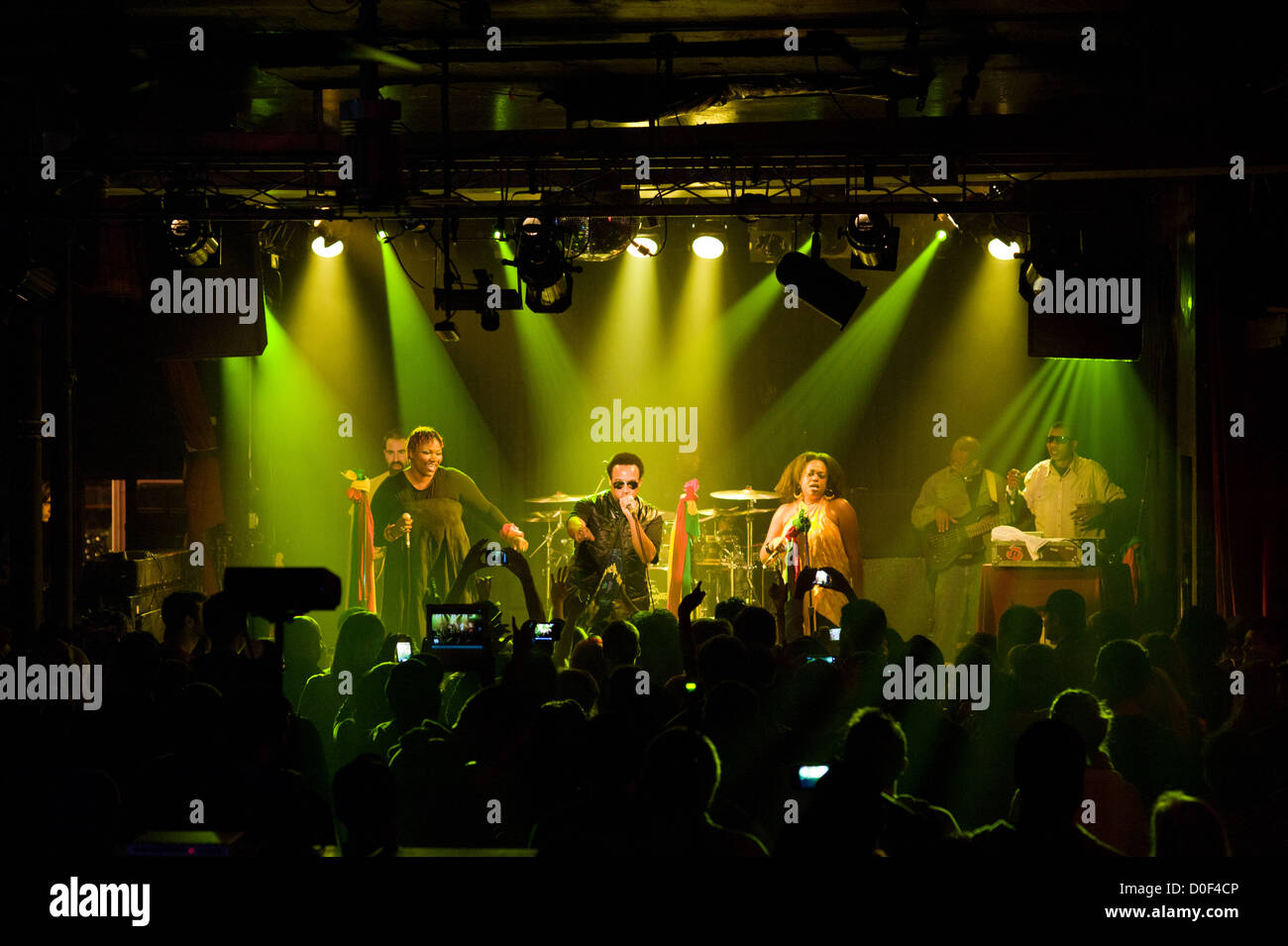 Arrested Development performing at Double Door in Chicago, Illinois. MAX HERMAN/ALAMY - Stock Image