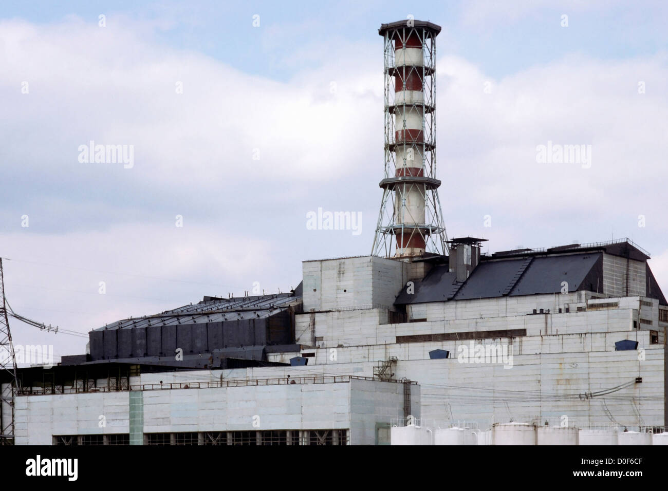 Chernobyl Reactor - Stock Image