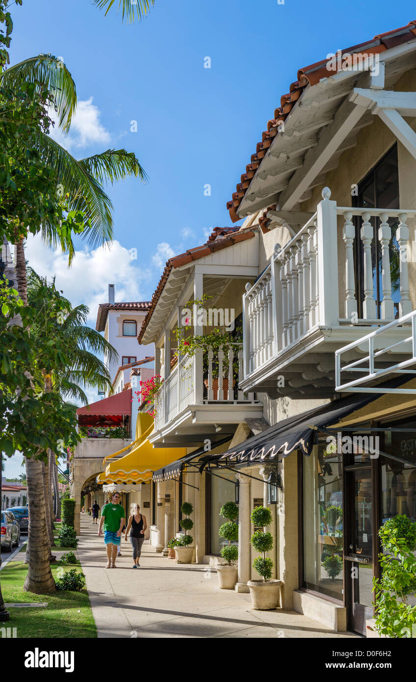 Stores On Worth Avenue In Downtown Palm Beach, Treasure