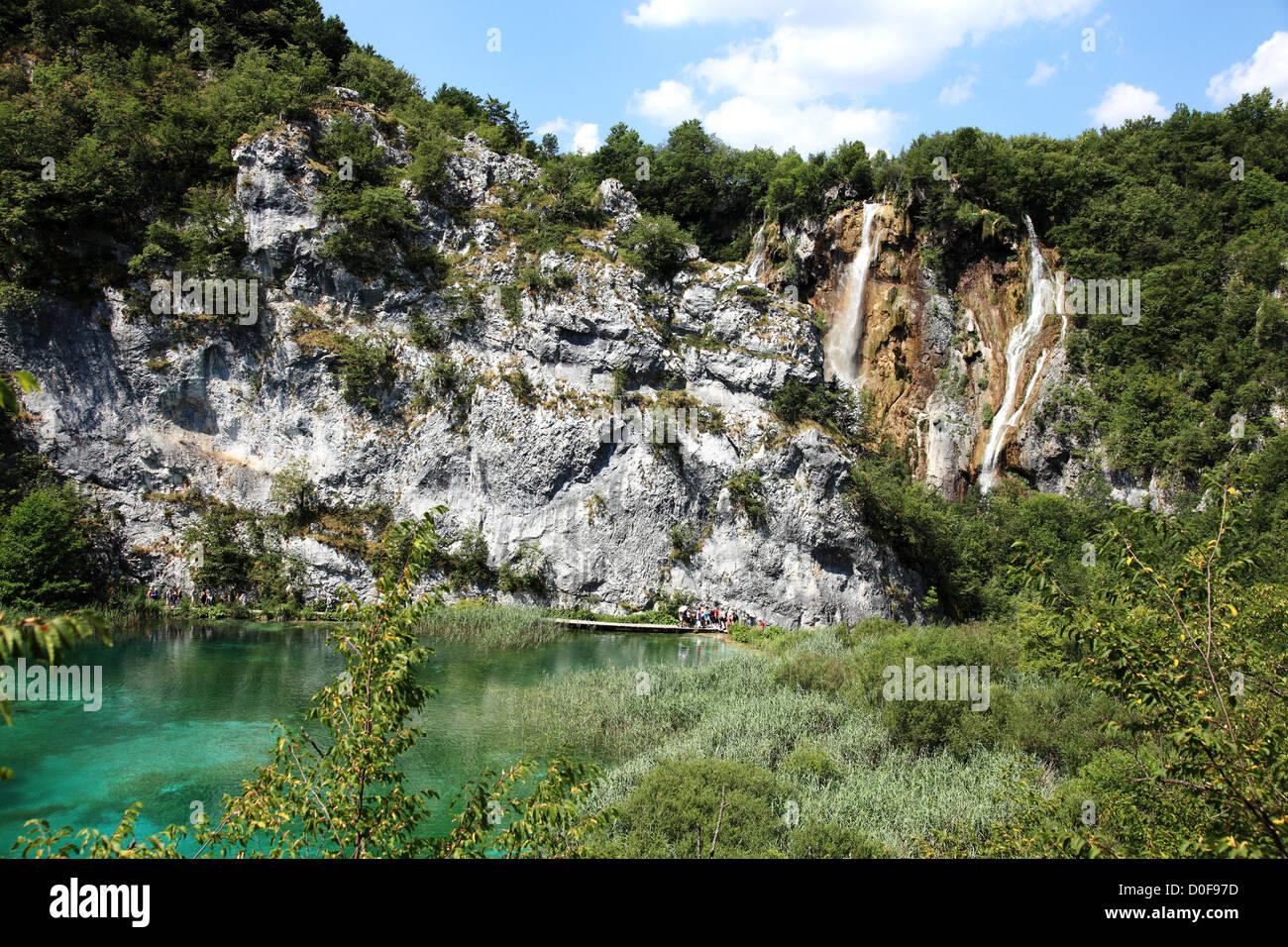 Plitvice National Park, Croatia - Stock Image