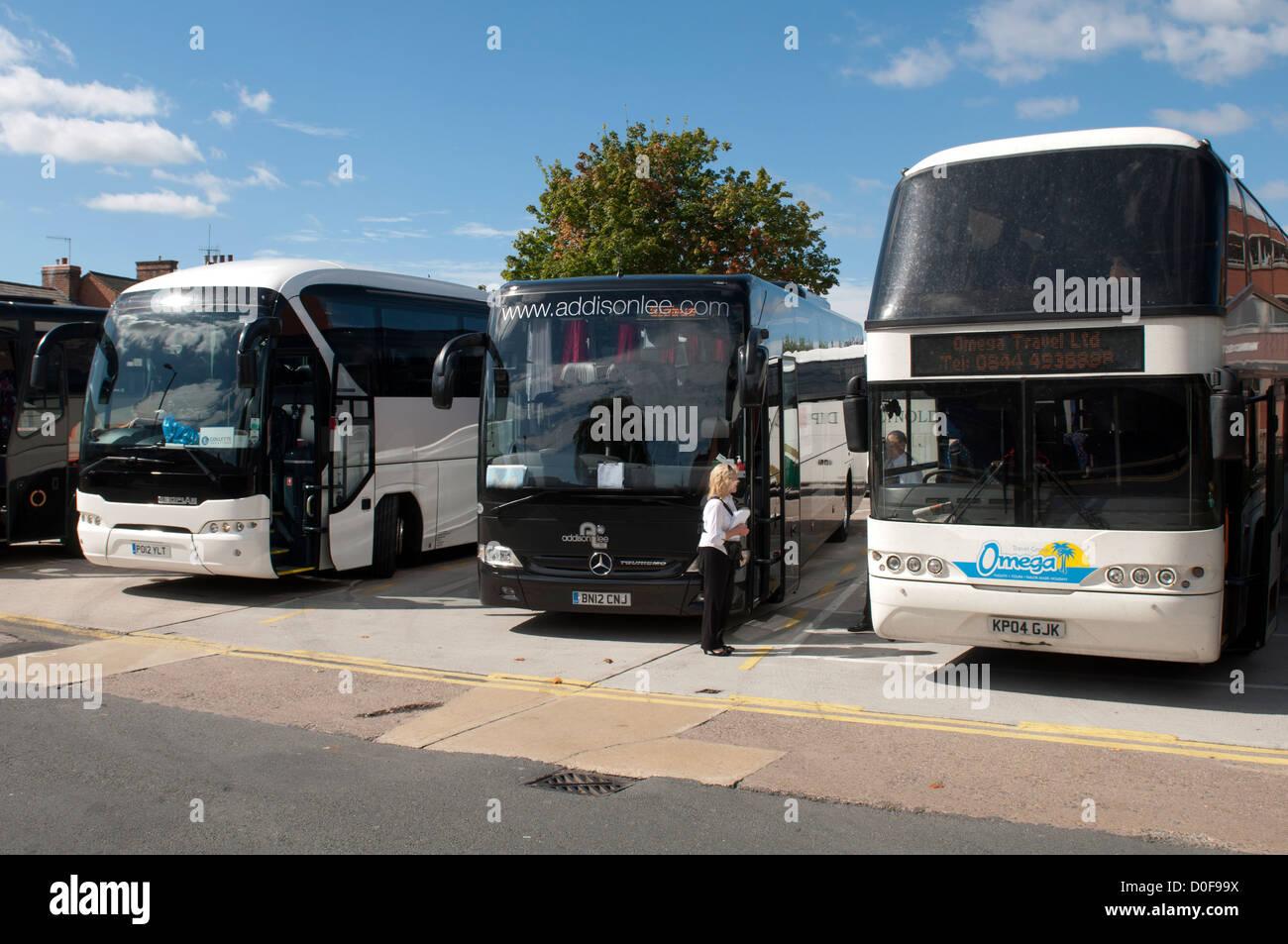 Windsor Street Coach Park Stratford Upon Avon UK