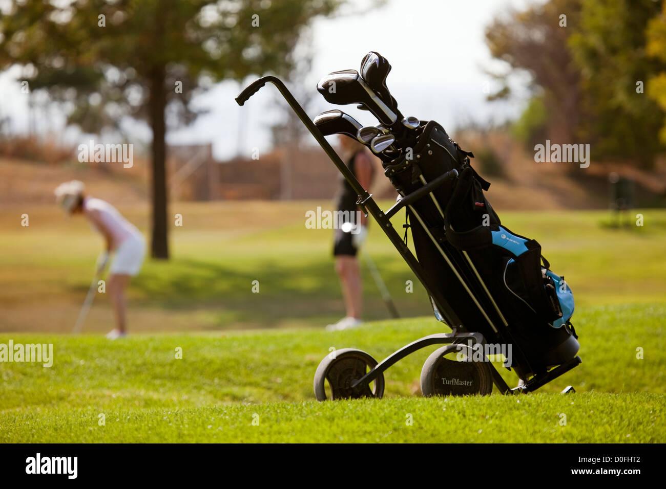 Guadalhorce Golf Course Malaga Andalusia Spain Campo de Golf Guadalhorce Málaga Andalucia España - Stock Image