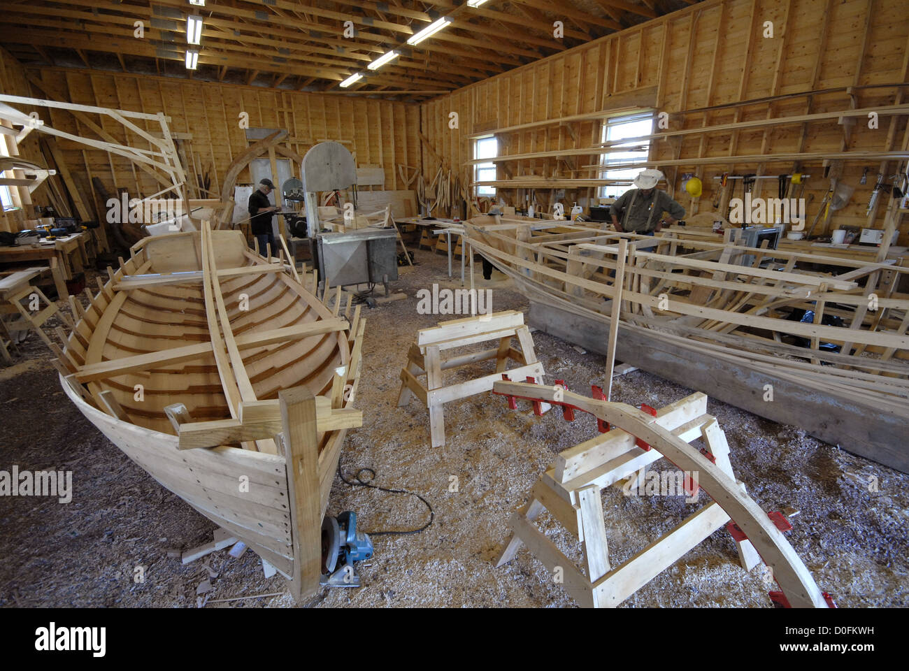 Wooden Boat Museum Canada Stock Photos Wooden Boat Museum Canada