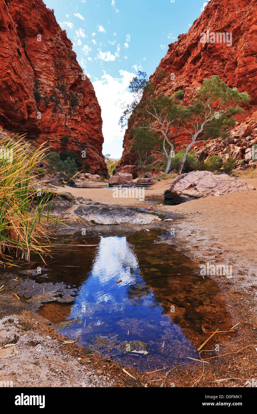 Simpson's Gap MacDonnell Ranges - Stock Image