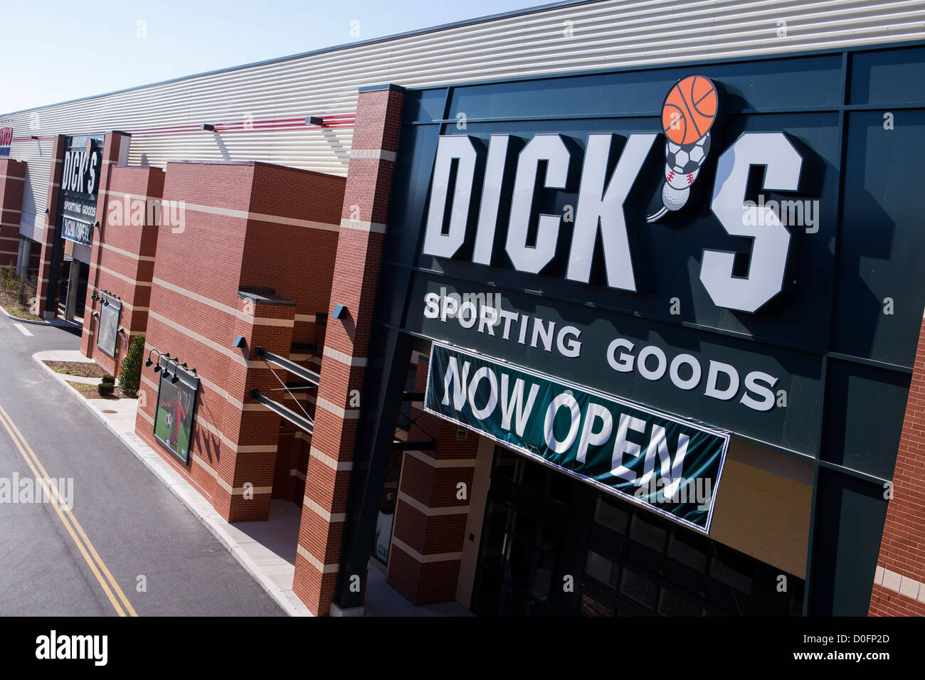 A Dick's Sporting Goods retail store.  - Stock Image