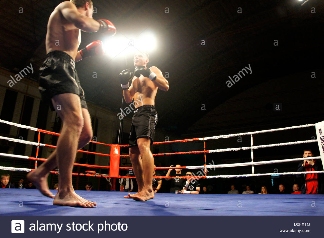 November 25th, 2012. Croatia defeats Poland in Ultimate Fighting Challenge in Samobor,Croatia - Stock Image