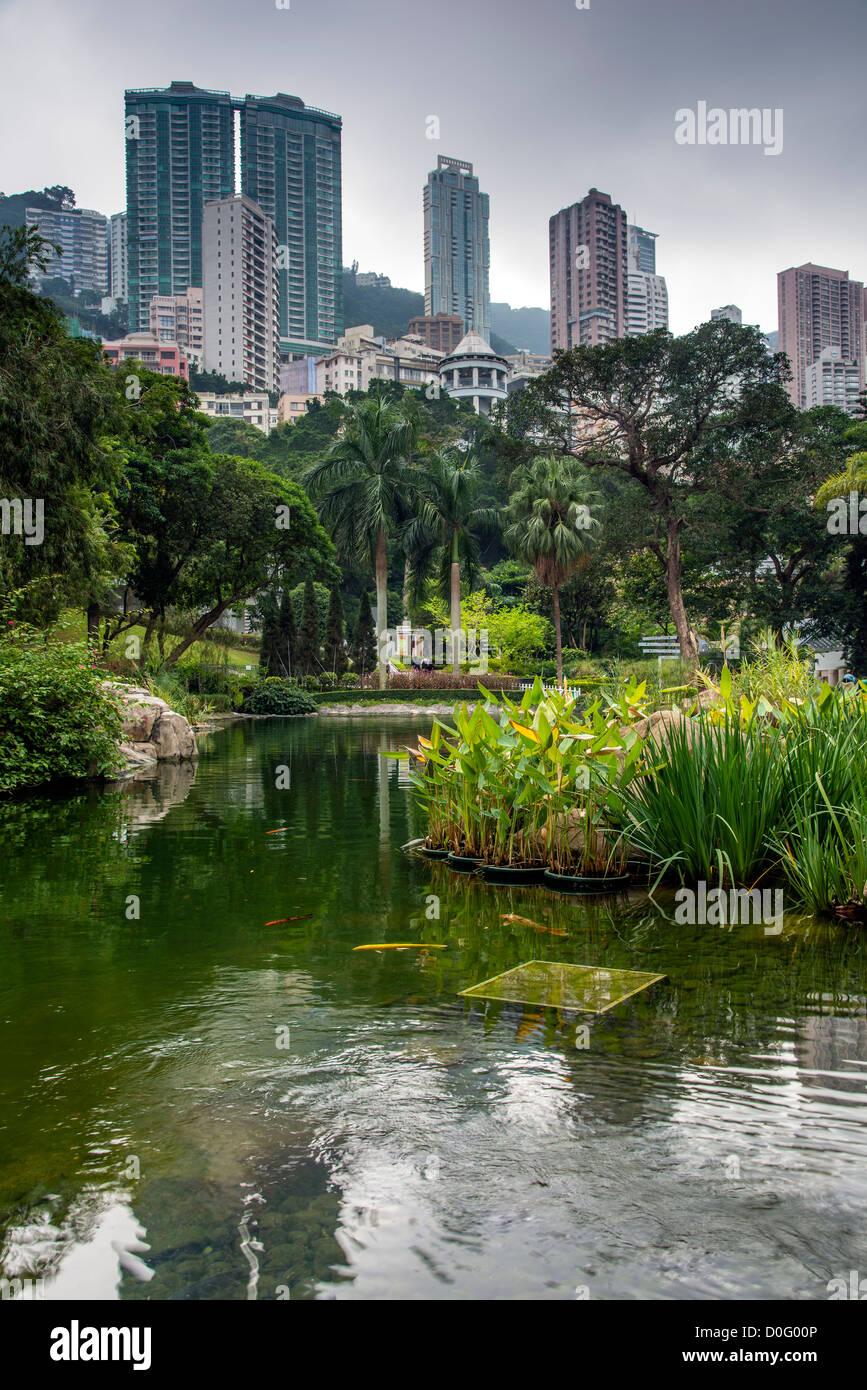 Hong Kong Park, Hong Kong, China - Stock Image