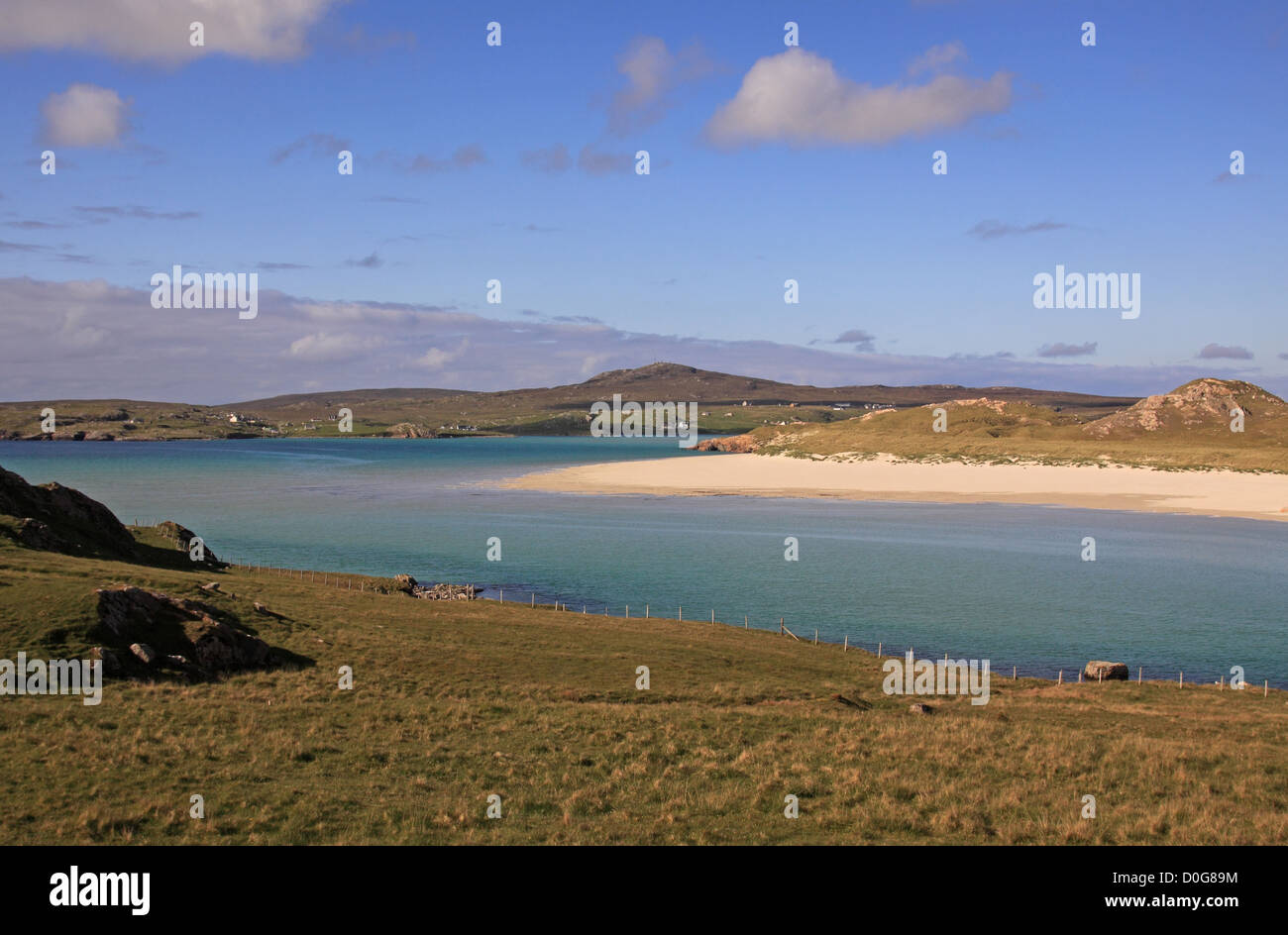Scotland Outer Hebrides Isle of Lewis Western Isles Uig Sands - Stock Image
