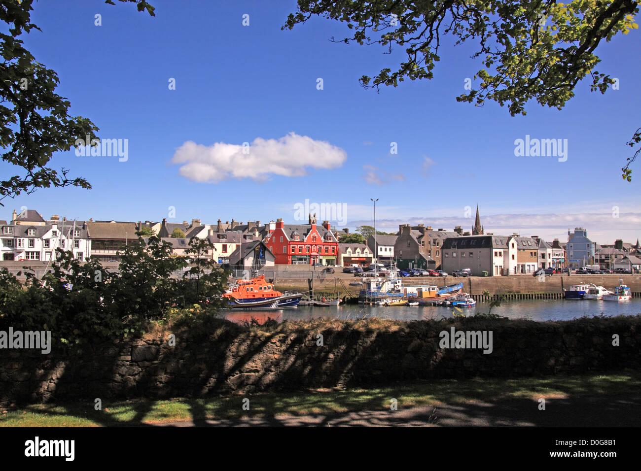 UK Scotland Outer Hebrides Isle of Lewis Western Isles Stornoway - Stock Image