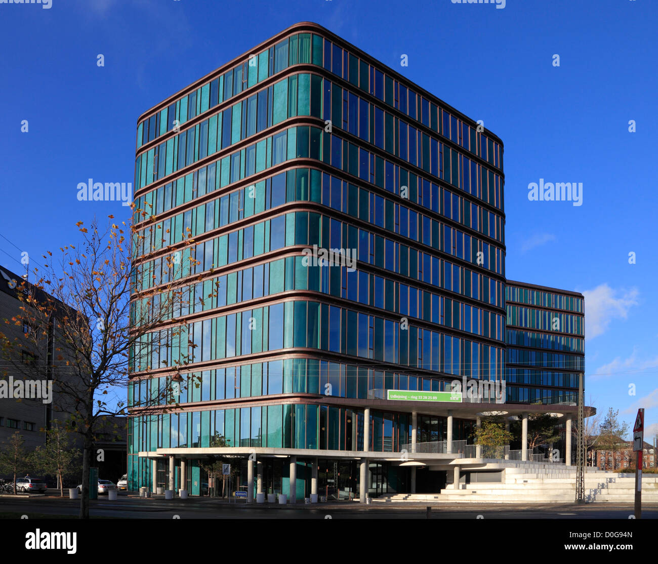 The SEB Bank Building Near Harbour Front In Copenhagen Used As Filming Location Danish Suspense Series Killing 3