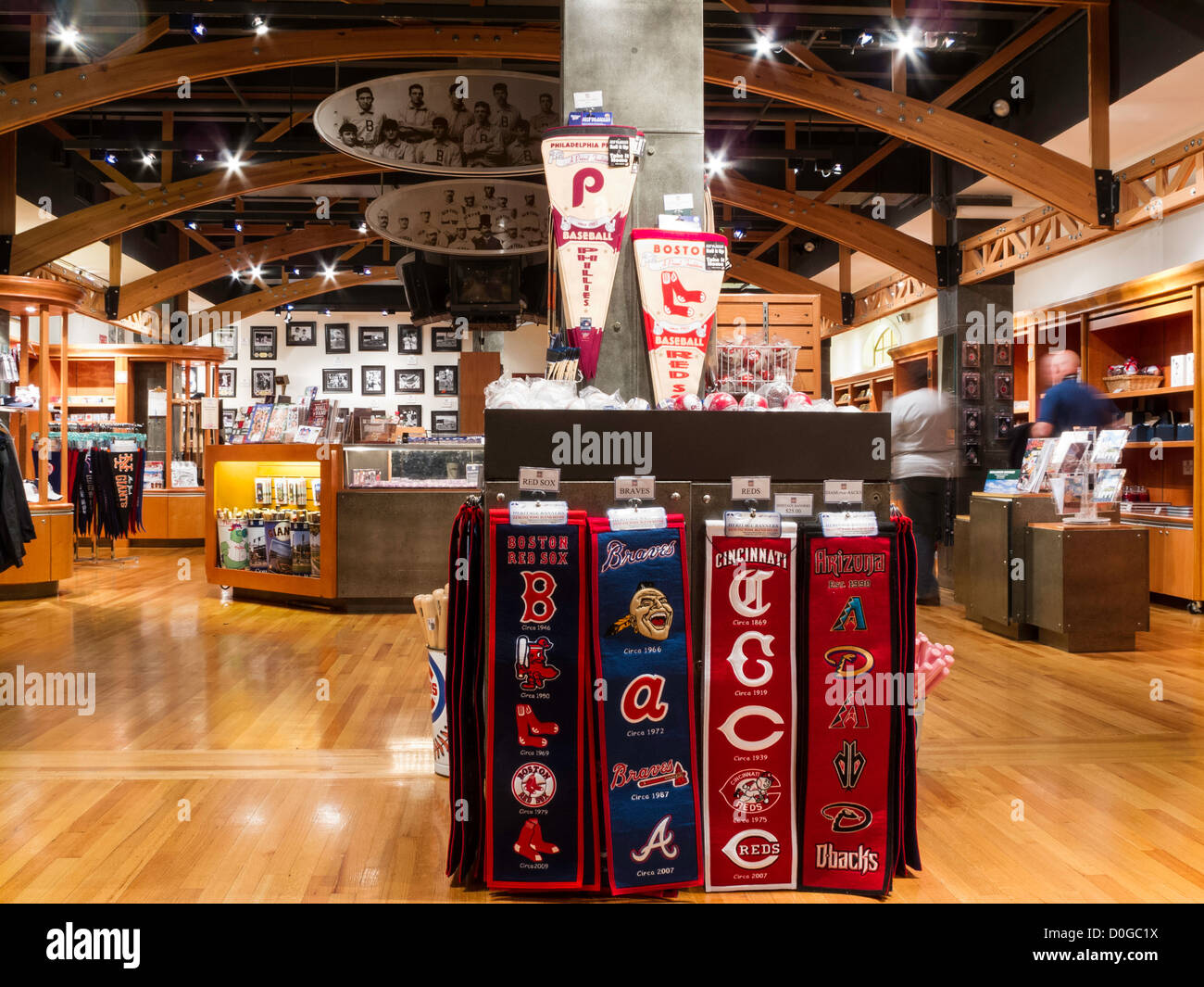 Museum Shop, National Baseball Hall Of Fame, Cooperstown