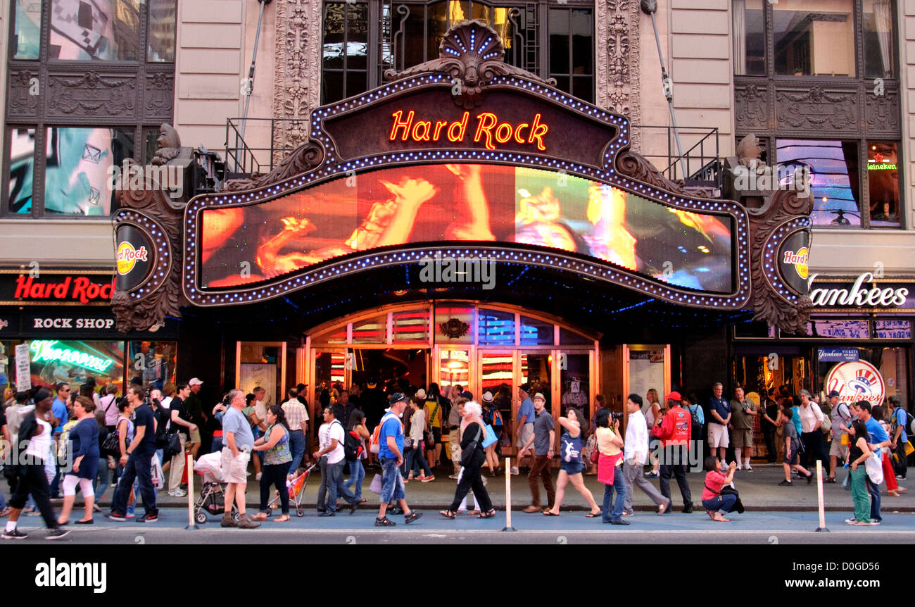 Hard Rock Cafe Nyc Times Square