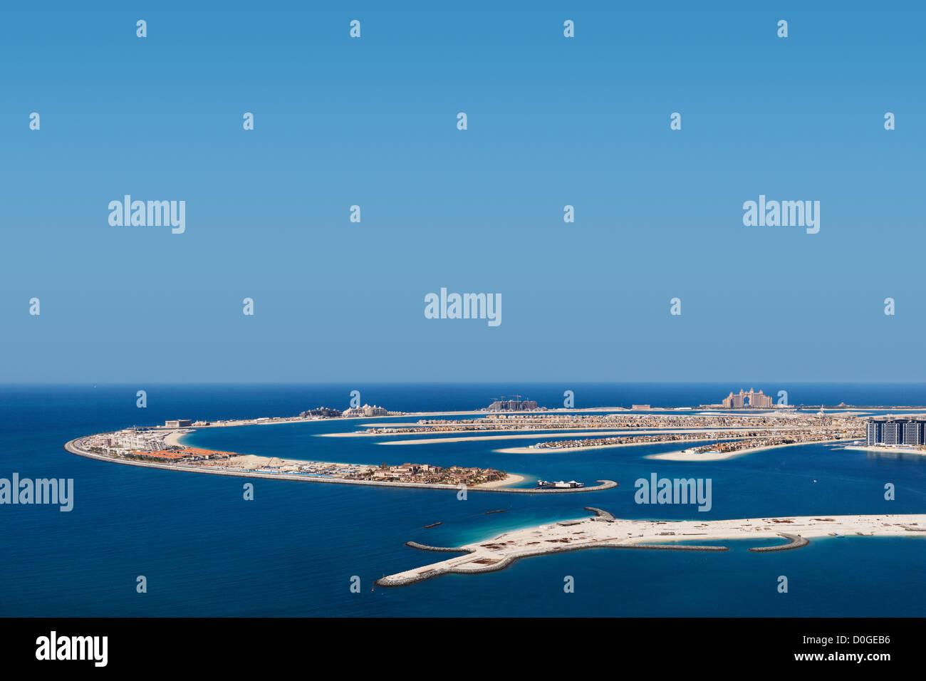 Palm Jumeirah, Dubai is a hugely popular residential area