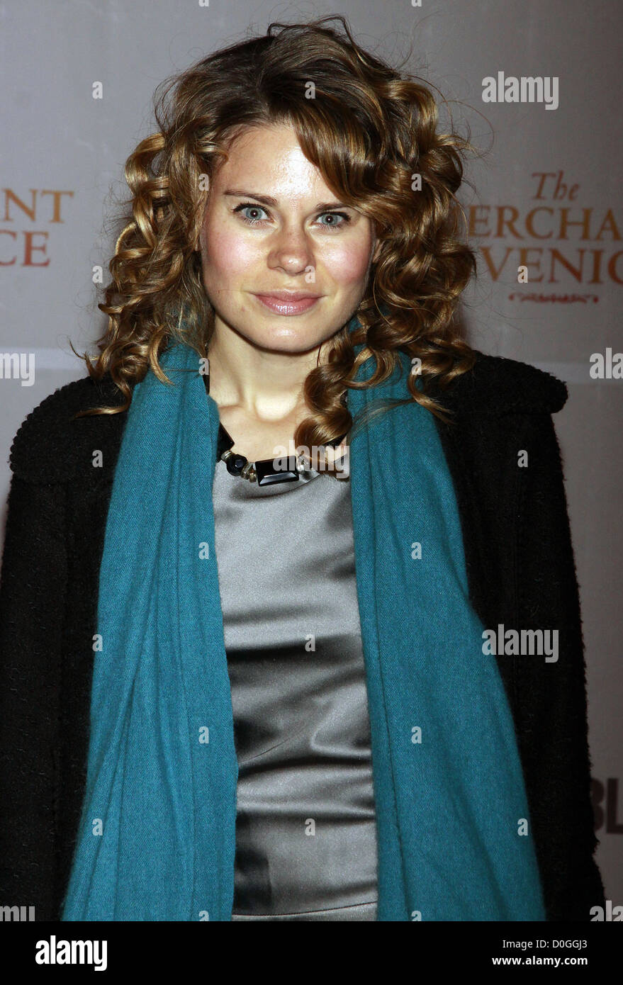 Celia Keenan-Bolger Opening night celebration of The Public Theater Broadway production of 'The Merchant of - Stock Image