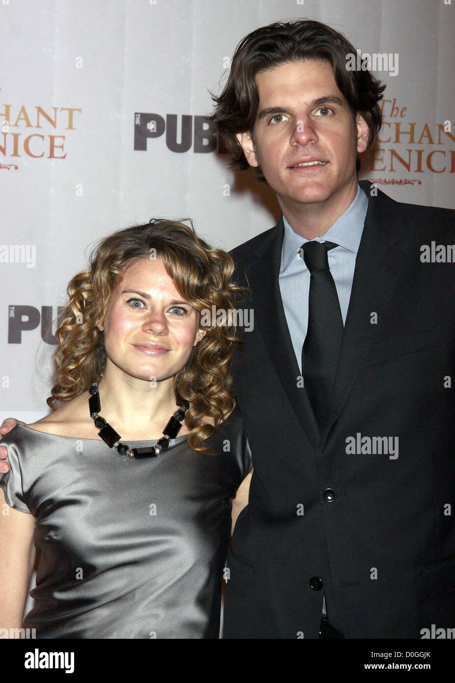Celia Keenan-Bolger and Alex Timbers Opening night celebration of The Public Theater Broadway production of 'The - Stock Image