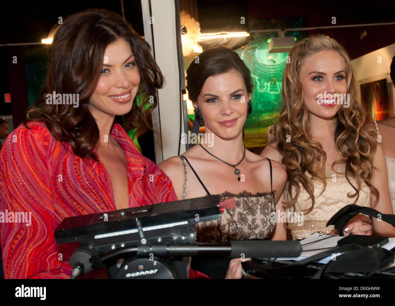 Amanda Peterson Pics cast members l-r amanda peterson, haley webb and alex