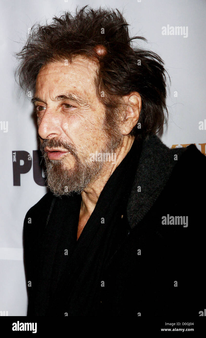 Al Pacino appears to have a small Sebaceous cyst on top of his head