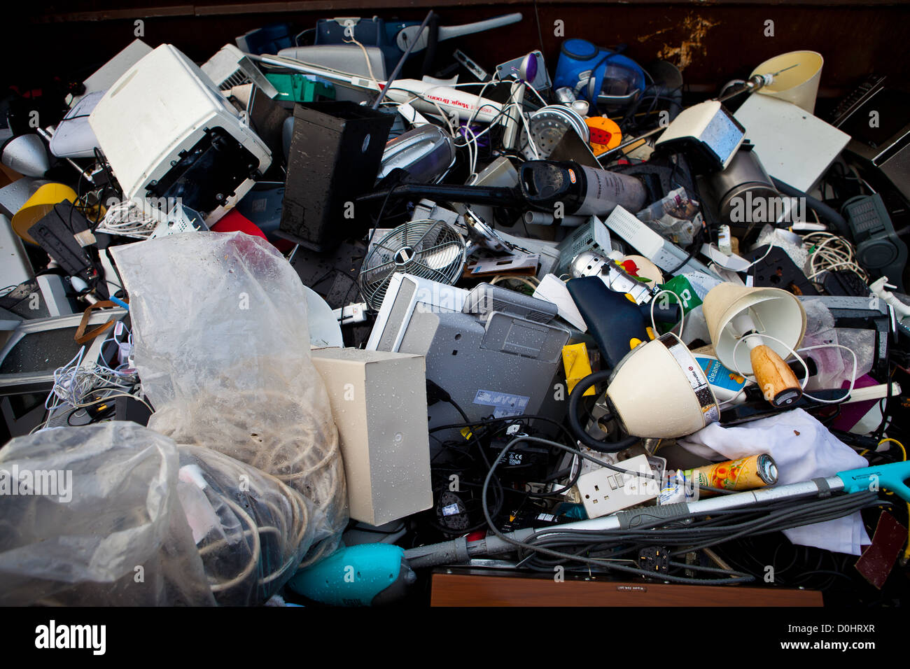 Hornsey Household Waste Recycling Centre, Haringey - Stock Image