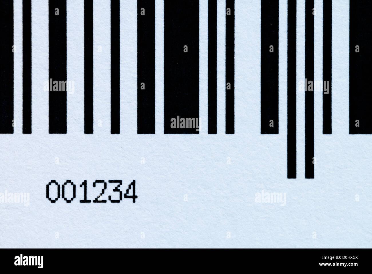 Barcode - Stock Image