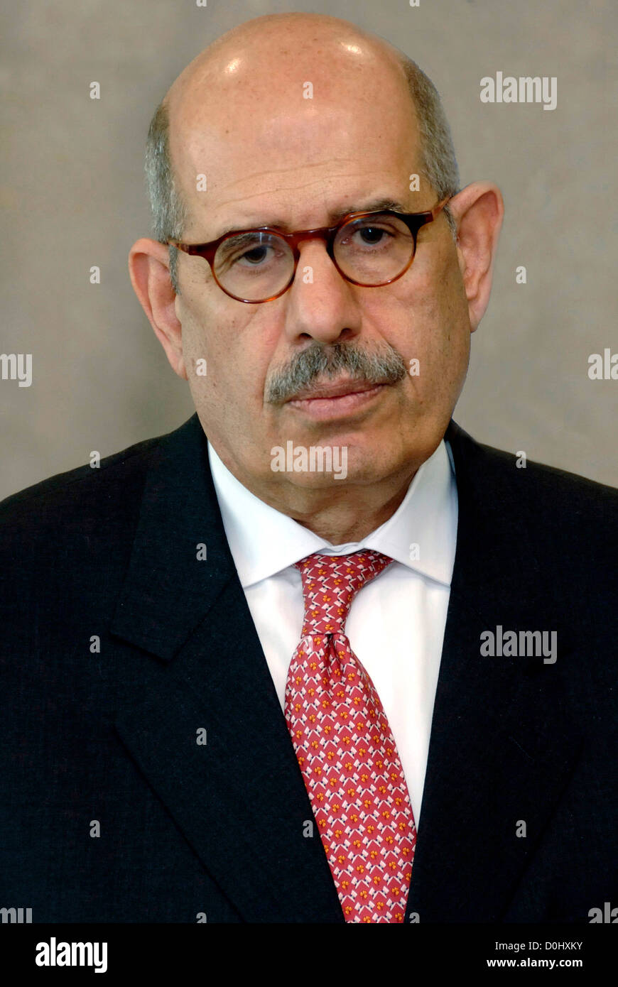 Mohammed El Baradei - * 17.06.1942: Egyptian diplomat, Nobel Peace Prize 2005, General Director of the IAEA of 1997 - Stock Image
