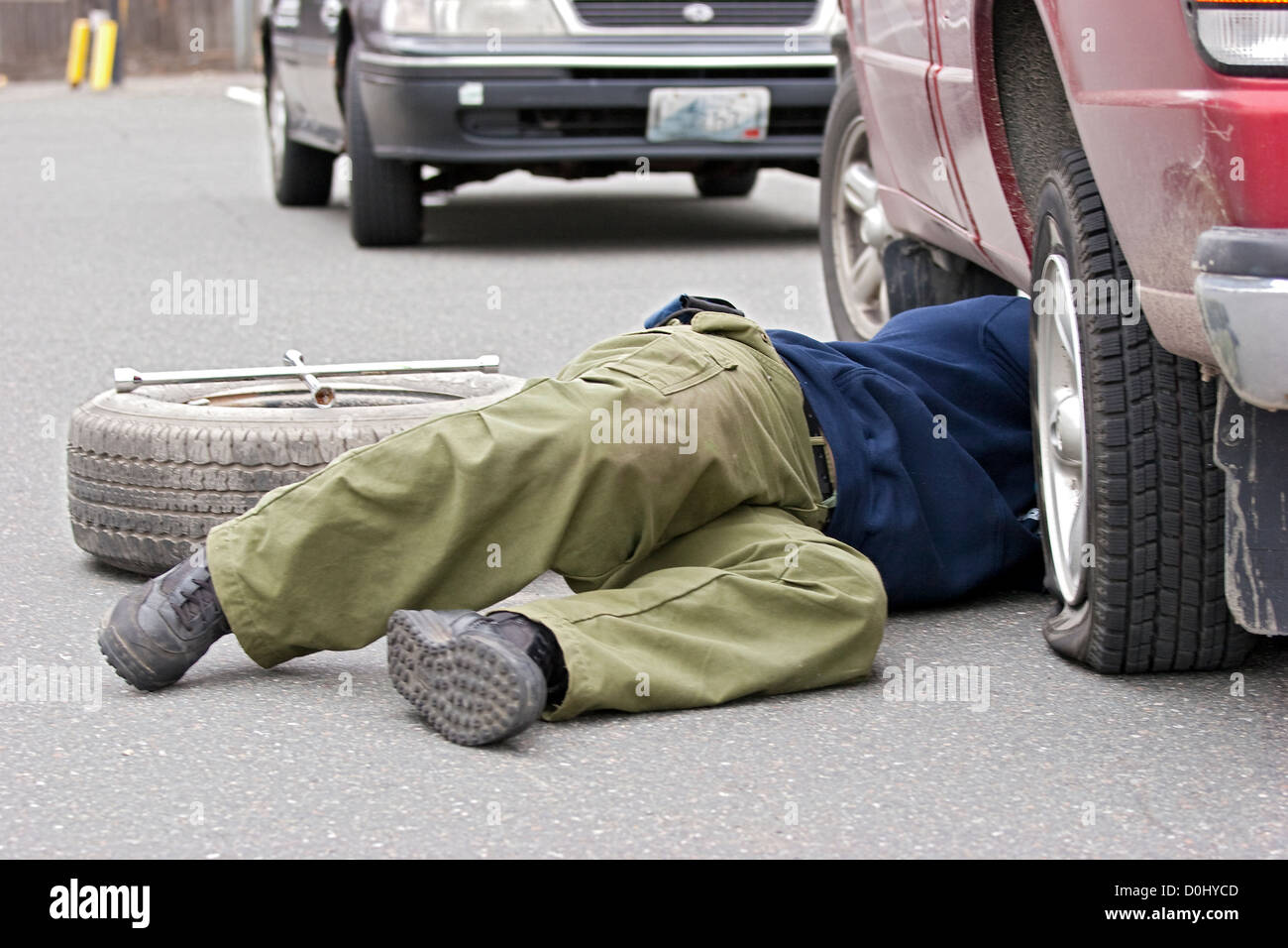Spare Tire Stock Photos Amp Spare Tire Stock Images Alamy
