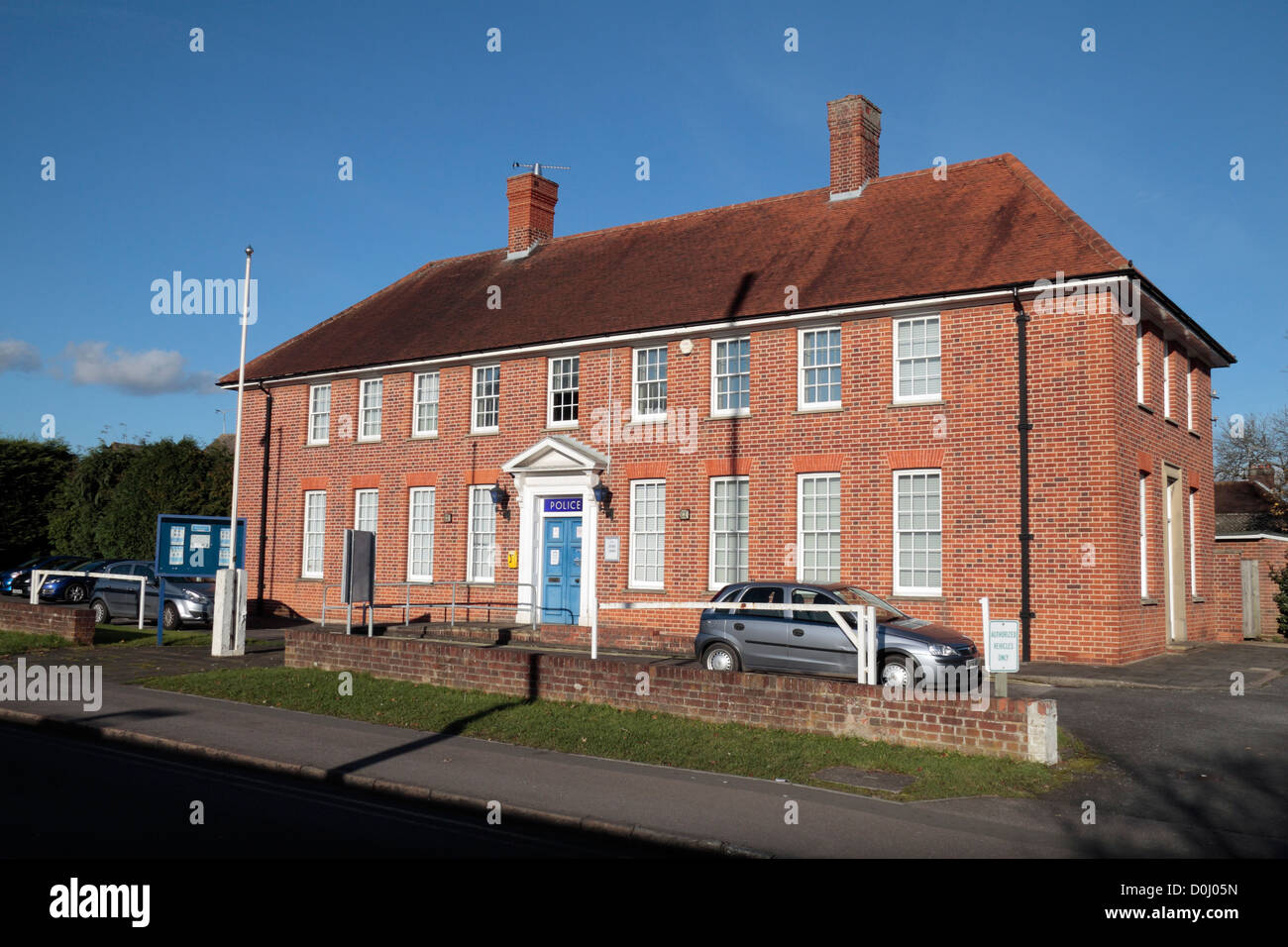 Marlow Police Station (Thames Valley Police) on Dean Street, Marlow, Buckinghamshire, UK. - Stock Image