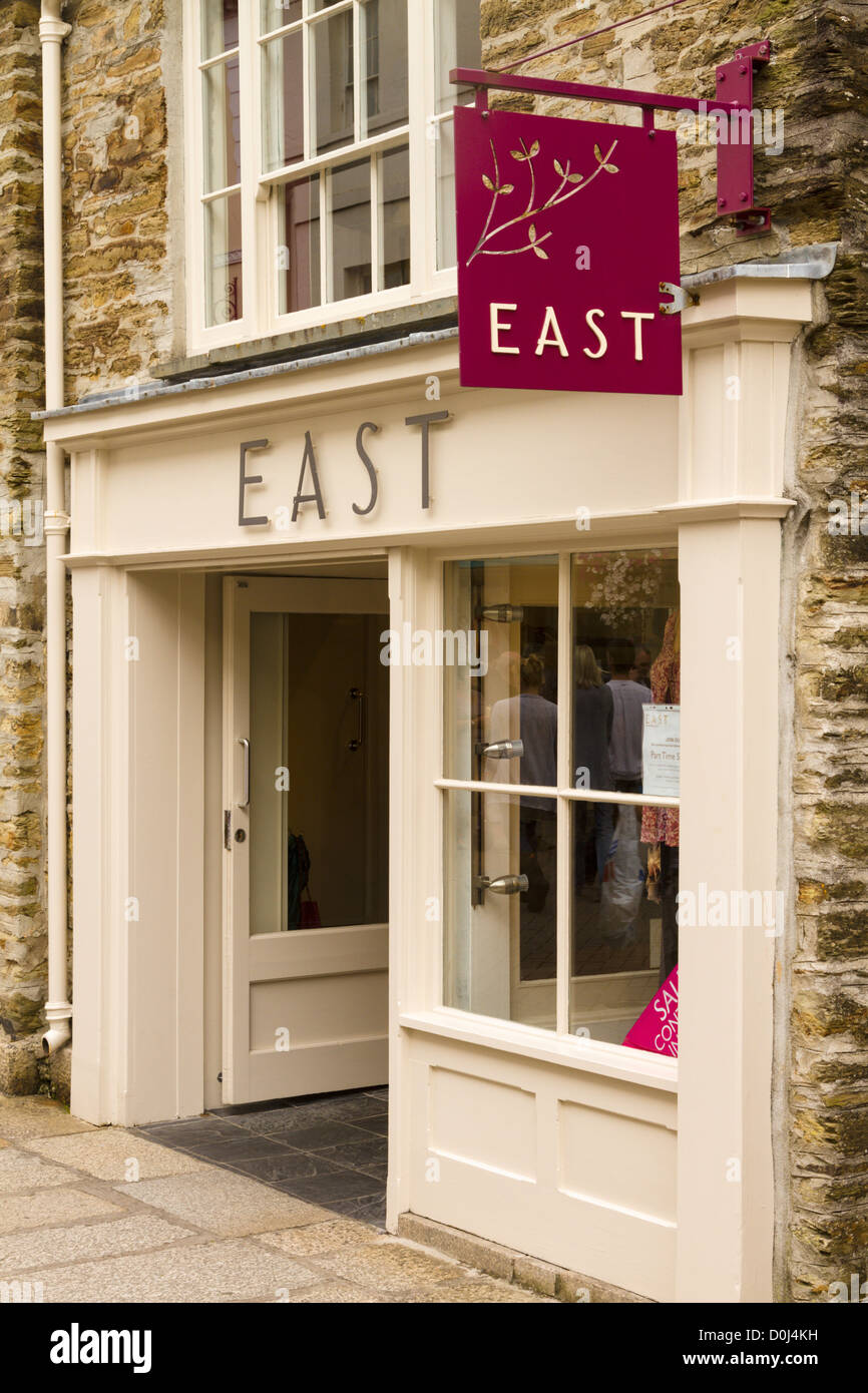 East women's fashion brand shop - Stock Image