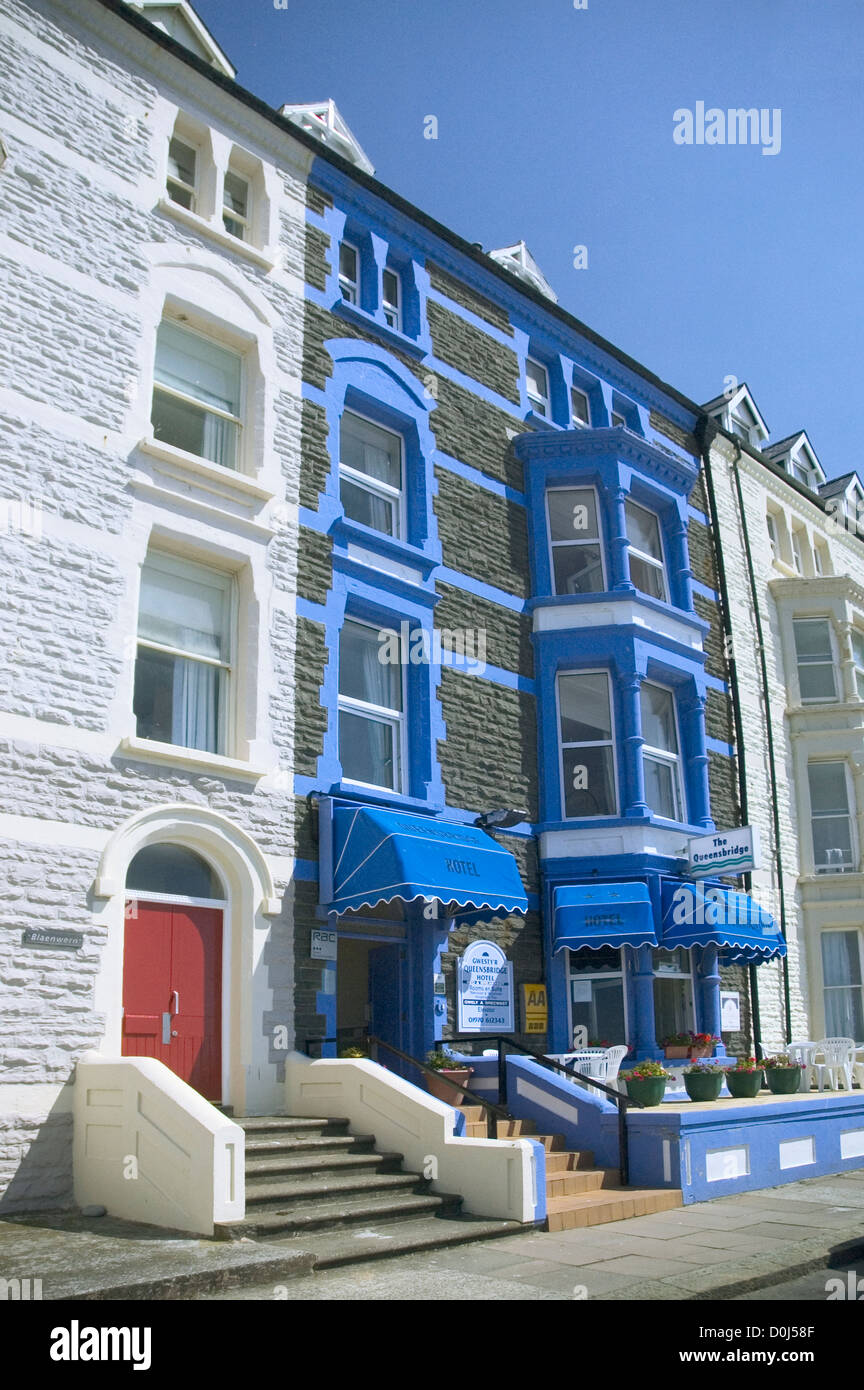Exterior of a hotel in Aberystwyth. - Stock Image