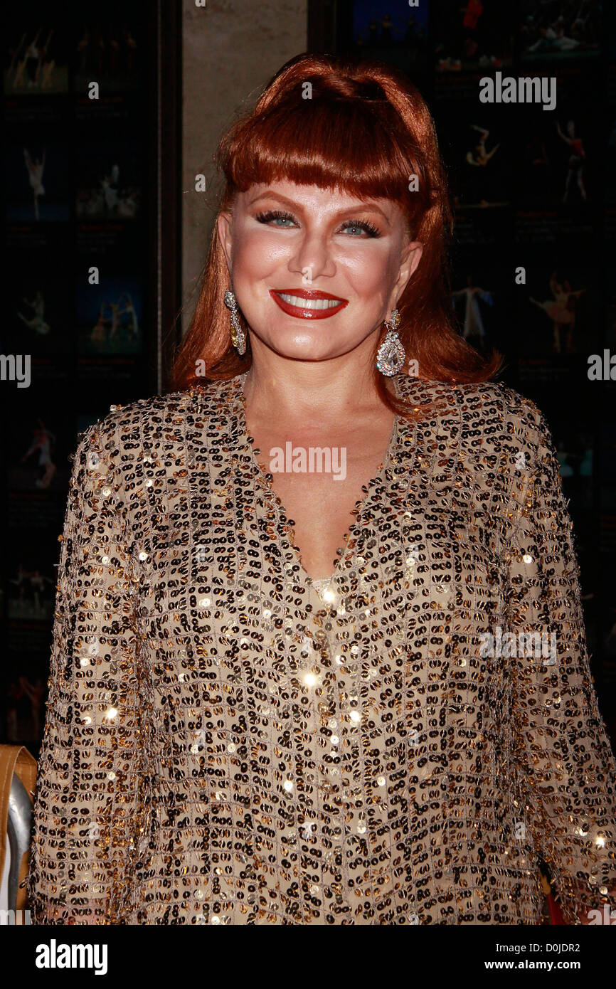 Georgette Mosbacher Metropolitan Opera Season, opening with new production of 'Das Rheingold' at the Metropolitan Stock Photo