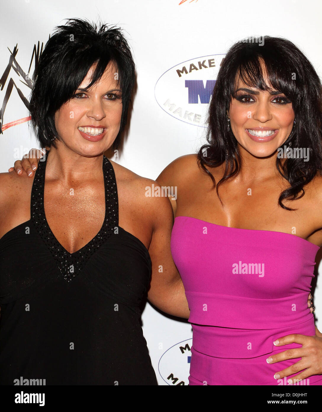 Divas Layla And Vickie Guerrero Wwe And The Muscular Dystrophy Association Mda Join Forces To Present The Annual Wwe