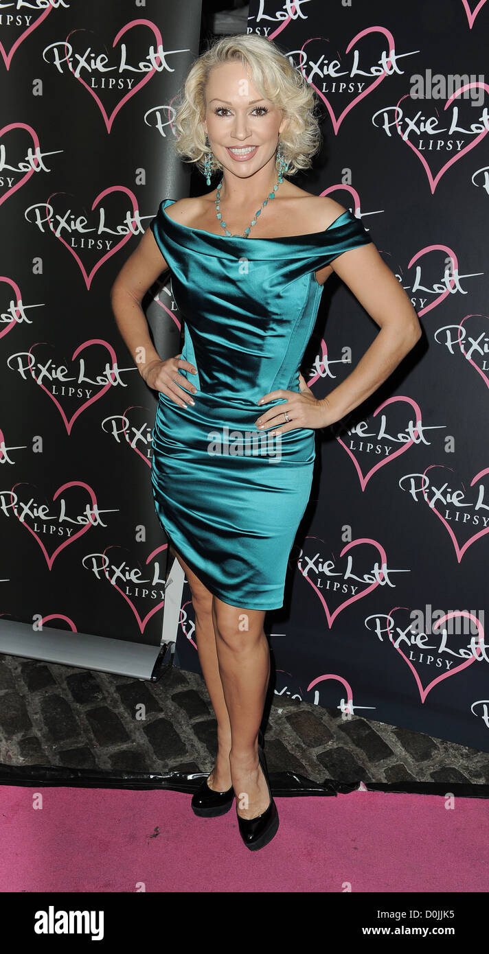 Kristina Rihanoff, at the launch of Lipsy Autumn/Winter Collection at Gilgamesh. London, England - 28.09.10 - Stock Image