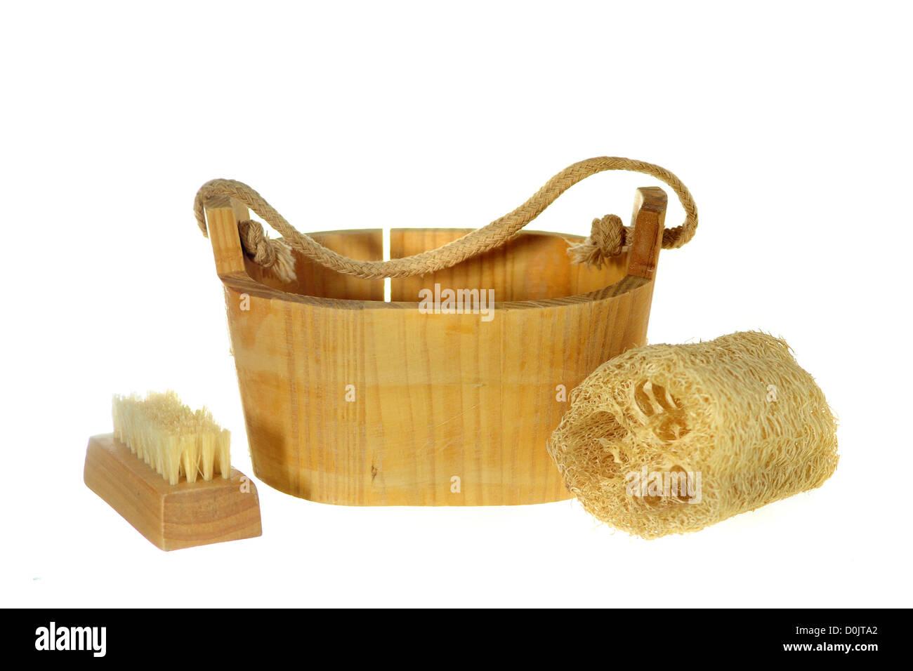 spa sponge - Stock Image