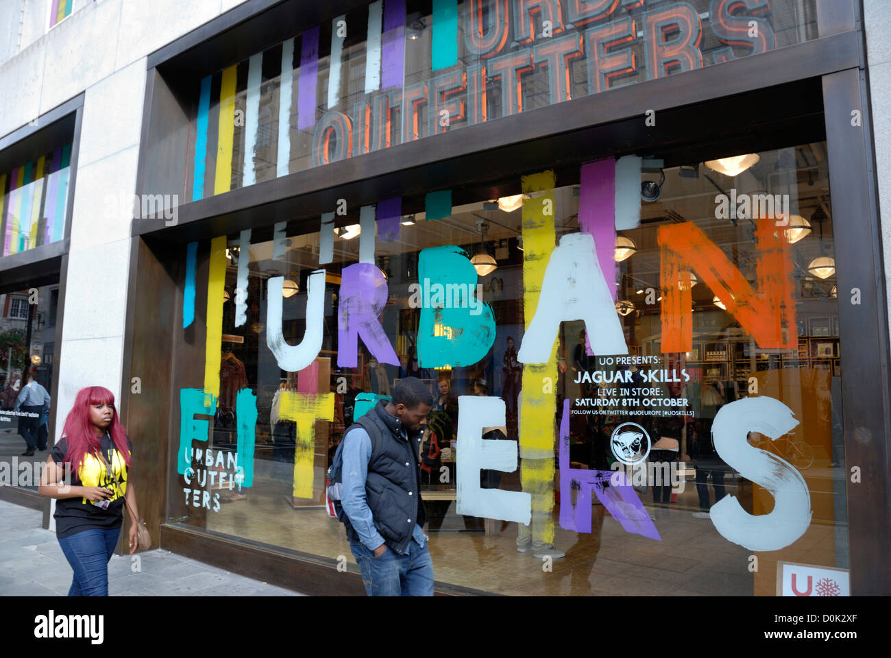 Exterior Of An Urban Outfitters Fashion Shop Stock Photo