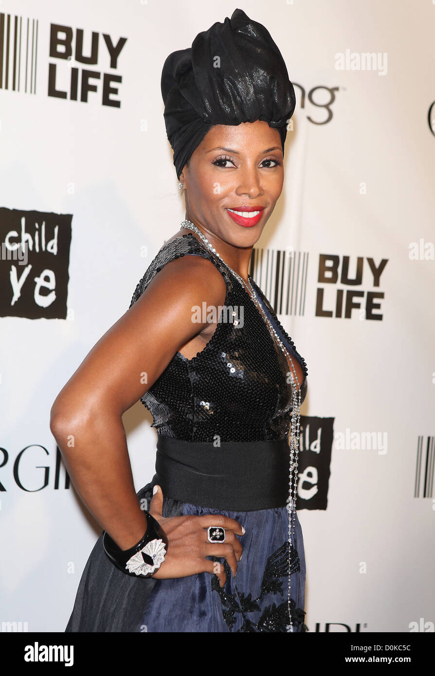 June Ambrose The 2010 'Keep A Child Alive' Black Ball held at the Hammerstein Ballroom - Arrivals New York City, Stock Photo