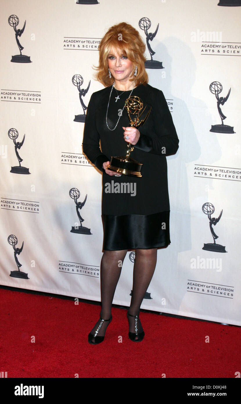 Ann-Margret 2010 Creative Arts Emmy Awards held at Nokia Theatre L.A. LIVE - Press Room Los Angeles, California - Stock Image