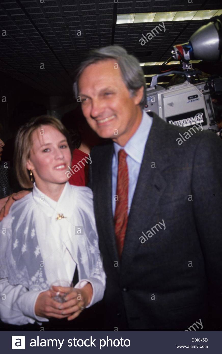MARY STUART MASTERSON with Alan Alda 1990.a5804.(Credit Image: © Adam Scull/Globe Photos/ZUMAPRESS.com) Stock Photo