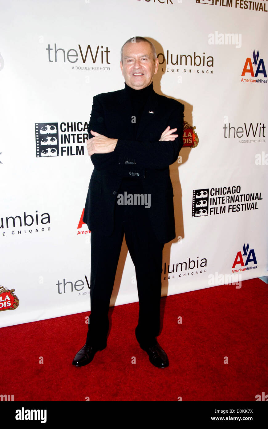 Michael Kutza at The 46th Chicago International Film Festival - 'Stone' Premiere and opening night at the - Stock Image