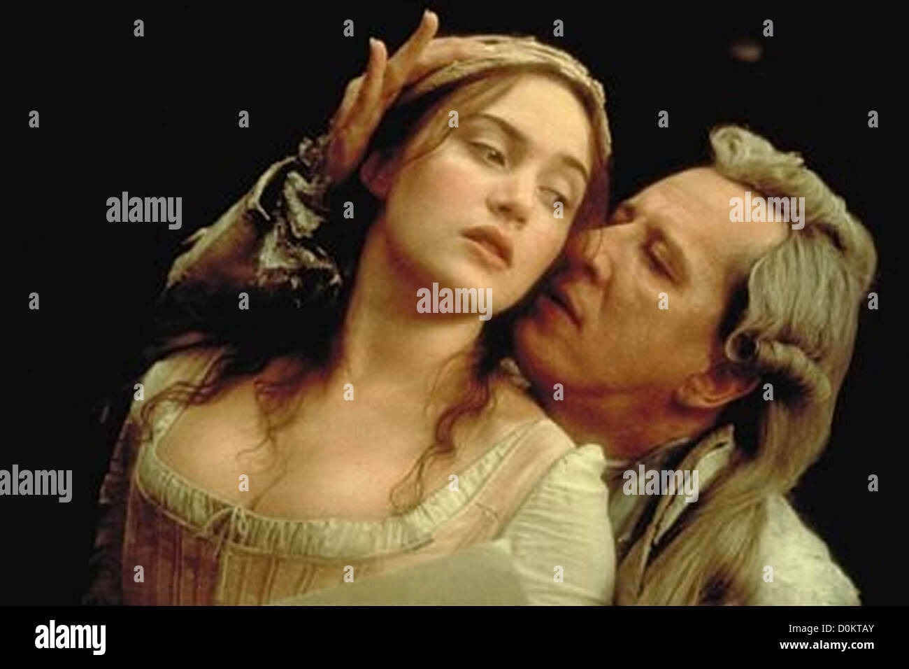 QUILLS  2000 Fox Searchlight film with Kate Winslett and Geoffrey Rush - Stock Image